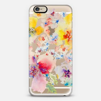 Clear Hawn Floral iPhone 6 case by Pineapple Bay Studio | Casetify
