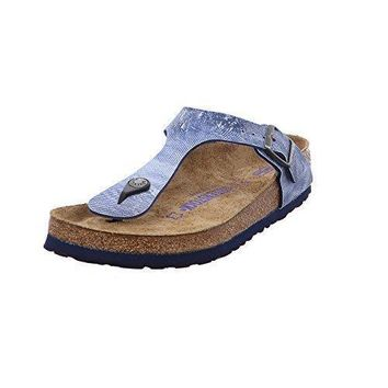 Birkenstock Women's Gizeh Soft Cork Footbed Thong Sandal sale sandals mayari arizon