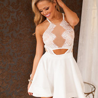 Charming Eve Dress in Ivory