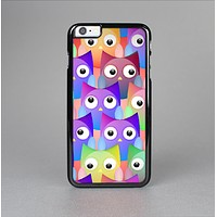 The Multicolored Shy Owls Pattern Skin-Sert for the Apple iPhone 6 Plus Skin-Sert Case