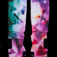 Thesockgame.com — X Prism Galaxies - Custom Nike Elite Socks