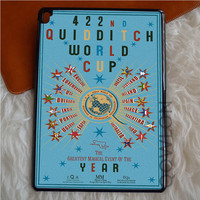 422nd QUIDDITCH WORLD CUP POSTER ART iPad Pro Case