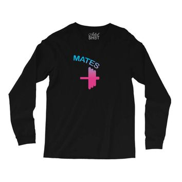 Swole Mates Couple Design Long Sleeve Shirts