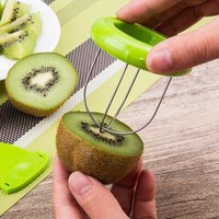 Mini Fruit Kiwi Cutter Peeler Slicer Kitchen Gadget Kiwi peeling