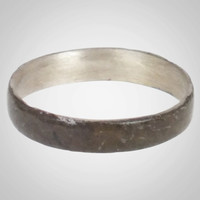Viking Woman's Wedding band, Jewelry C.866-1067A.D. Size 7 3/4   (17.6mm)(BRR670)