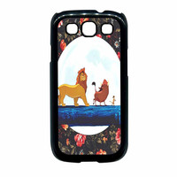 The Lion King Disney Floral Samsung Galaxy S3 Case