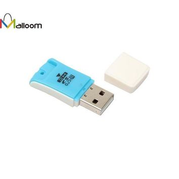 DCCKJY1 High Speed 480 Mbps Mini USB 2.0 Micro SD TF T-Flash Memory Card Reader Adapter