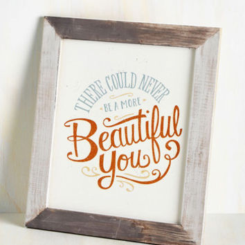 Ready, Frame, Admire! Wall Decor in Beautiful You | Mod Retro Vintage Decor Accessories | ModCloth.com