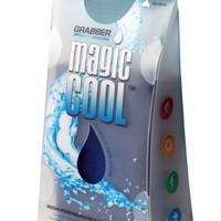 Grabber Cooling Magic Cool Personal Cooling Towel- Navy