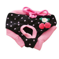 Hight Quality Pet Dog Floral Sanitary Dog Shorts Panty Female Puppy Shorts Pant Diaper Cute Underwear