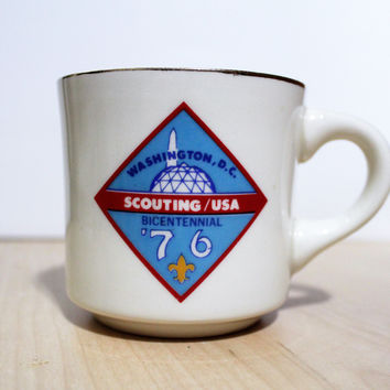 Boy Scouts of the America 1976 Bicentennial  Commemorative Mug / Cup