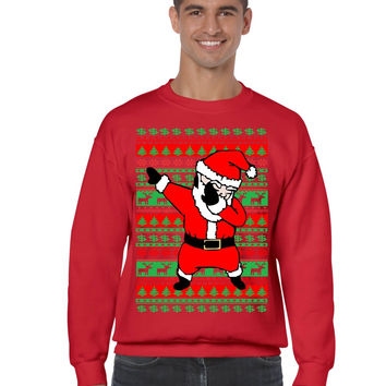Dabbing Santa Ugly Christmas Sweater Men From Allntrendshop