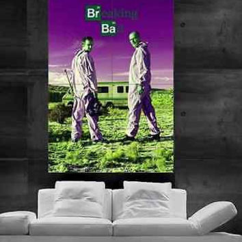 Breaking bad Poster print wall art big parts 9 PARTS Christmas Heisenberd Gifts