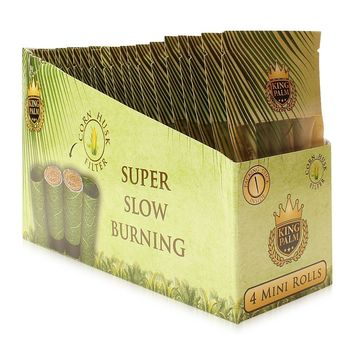 King Palms Super Slow Burning Wraps - Minis (4 Pack)