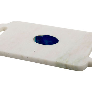 Marble & Blue Agate Rectangle Board, Cheese Boards & Cheese Board Sets