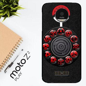 Sharingan Circle And Rinnegan Z2159 Motorola Moto Z2 Play Case