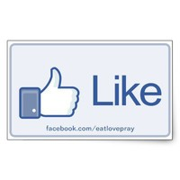 Like Button - Promotional stickers from Zazzle.com