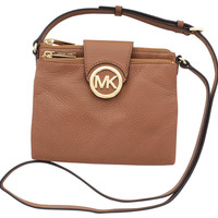 Michael Kors Fulton Women's Leather Crossbody Handbag