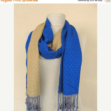 Double-layered Scarf / Two Sided Scarf  long scarf