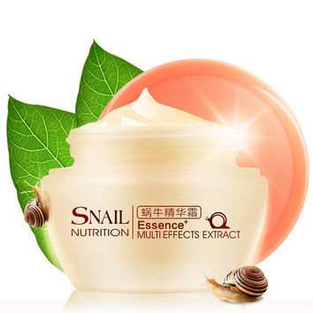 Anti-aging Moisturizing Whitening Scar Removal Emulsion Snail Cream