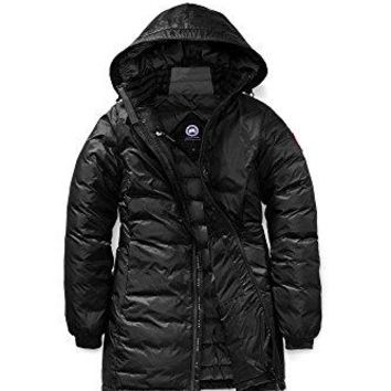 Canada Goose Women s Camp Hooded Jacket Black XS