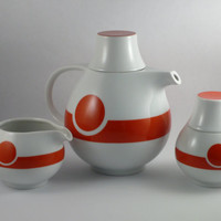 Original 1970s Tea Service Set - Modern Space Age Design
