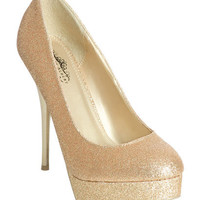 Glitter Double Platform Heel | Shop Shoes at Wet Seal
