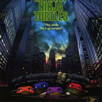 Teenage Mutant Ninja Turtles: The Movie 27x40 Movie Poster (1989)