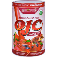 Ojc-purity Products Organic Juice Cleanse - Certified Organic - Daily Super Food - Red Berry Surprise - 8.47 Oz