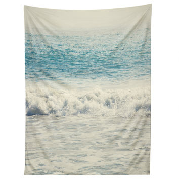 Catherine McDonald Malibu Waves Tapestry
