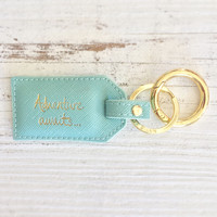 Adventure Awaits Keychain by Katie Loxton