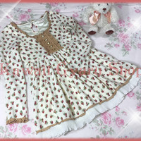 Liz Lisa Rose Floral Baby Doll Winter Dress from Kawaii Gyaru Shop