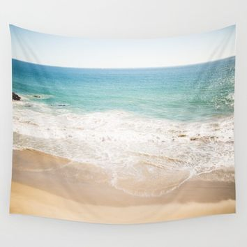 Malibu Dreaming Wall Tapestry by annbphoto