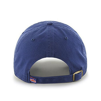 '47 Brand Cleveland Cavaliers Royal Blue Clean Up Hat - NBA Adjustable, One-Size, Cavs Baseball Cap