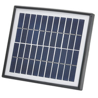 Solar Home Lighting System - 5W Solar Panel with 5 Meter Cable, 2x1W Bulbs, 4400mAh Power Bank, Eco-friendly, Noiseless