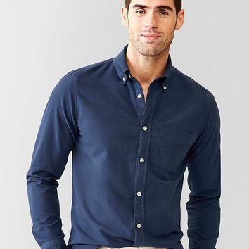 Modern Oxford Solid Shirt