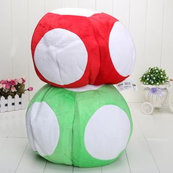 Super Mario party nes switch 12''  Mushroom Plush Hat Caps Cosplay Hat Stuffed Plush Toys Cap AT_80_8