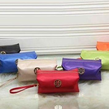 Tory Burch Women Trending Fashion Contracted Leather Zipper Wallet Purse G