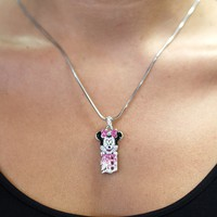 Rhinestone Minnie Mouse with Detroit 'D""