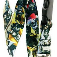 Transformers Comic Lanyard Key Chain Holder