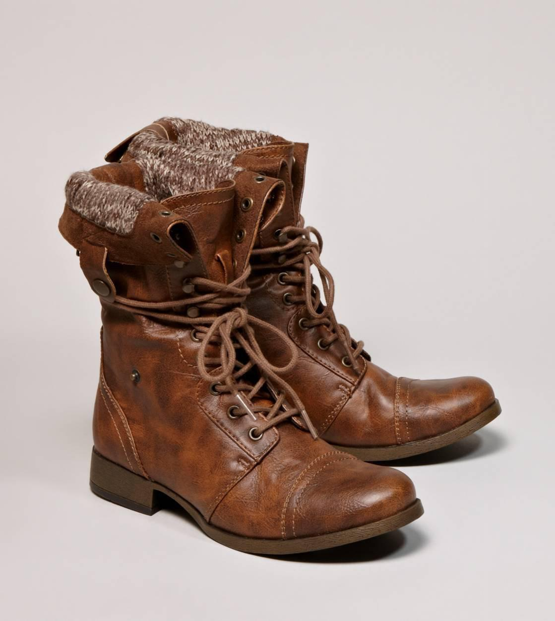 AEO Lace-Up Boot   American Eagle Outfitters