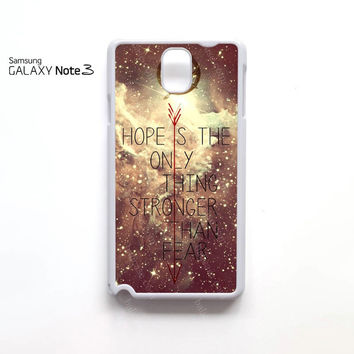 hunger games may the odds be ever in your favor samsung galaxy note 1 N7000, Note 2 N7100, Note 3 N9000 case