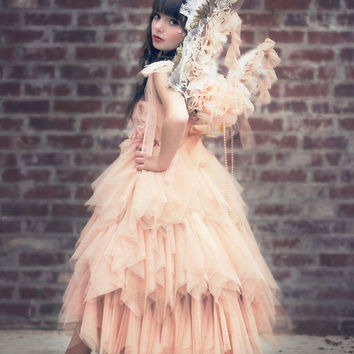 Couture Tutu Dress-Photoprop-flower Girl-Loryn