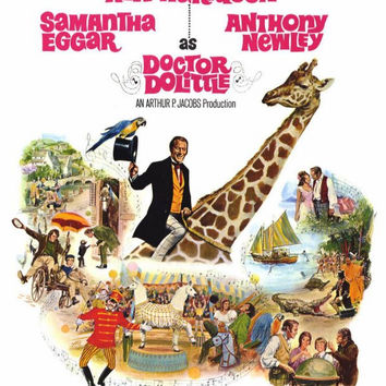 Doctor Dolittle 11x17 Movie Poster (1969)