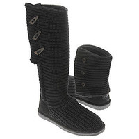 Women's BEARPAW  Knit Tall Black FamousFootwear.com