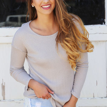 Keep it Basic Gray Knit