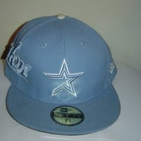 Houston Astros 59FIFTY New Era Cap Sky Blue Rare Fitted Hat