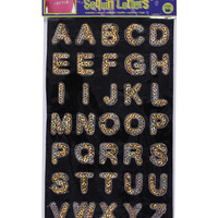 "Dritz Iron-On 1"" Sequin Letters-Block Gold at Joann.com"