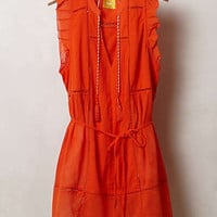 Anthropologie - Pompom Hem Tunic