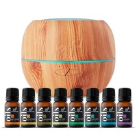 TOP 8 ESSENTIAL OILS & OIL DIFFUSER SET